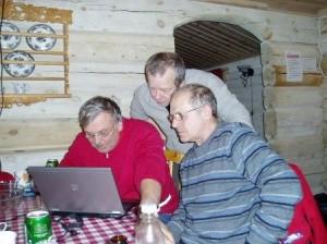 Tablemushers Arne, Morten, Sverre
