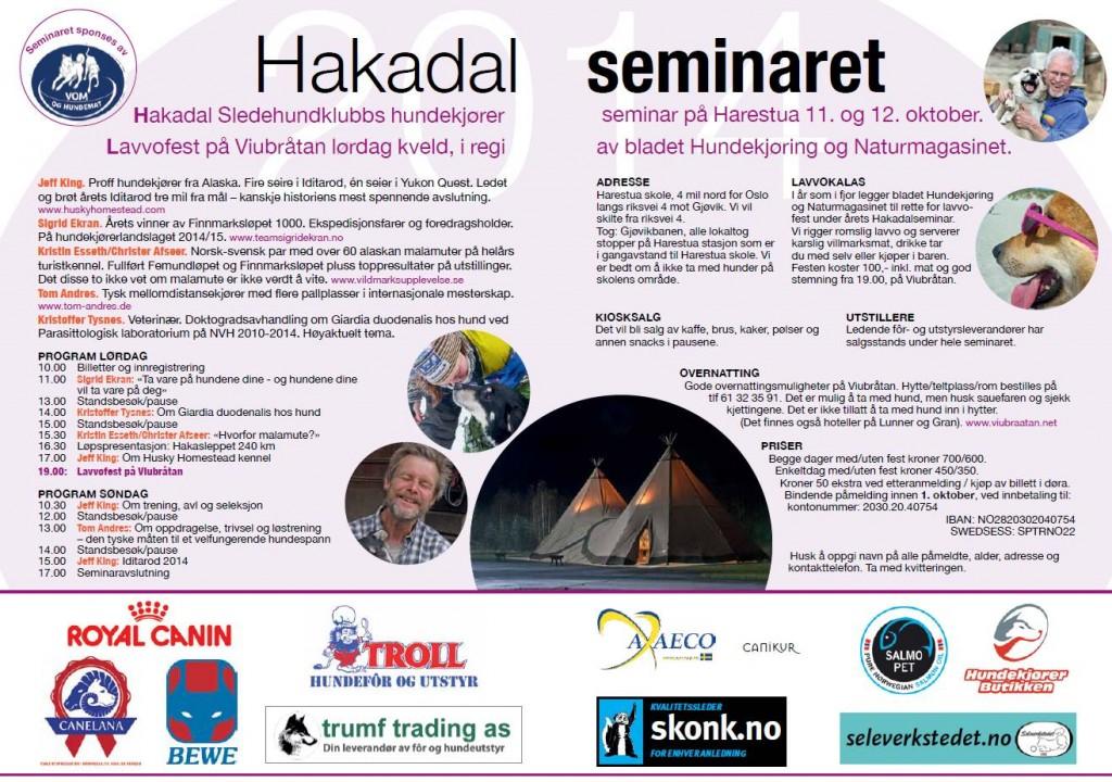 Seminar program 2014