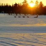 Langen 1 i solnedgang HS2015. Foto: Per Olav