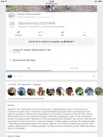 BARMARKMORO 2020            24.10. Kl 11.00 Sessvolmoen